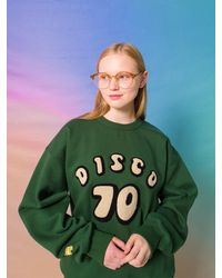 MAINBOOTH Unisex 70 Sweatshirt - Green