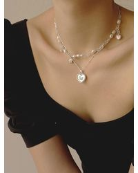 FLOWOOM Rosy Necklace - White