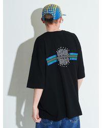XTONZ - Xtt005 Stella Oversize T-shirt - Lyst