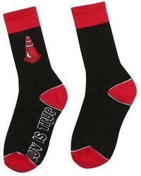 W Concept - [unisex] Sd Cone Socks Black - Lyst