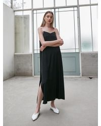 COLLABOTORY - Piping Bustier Dress - Lyst