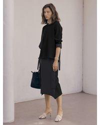 J.CHUNG Double Belt Skirt - Black