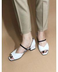 IGINOA - Tulip Band Court Shoes - White - Lyst