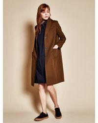 W Concept - Three Pocket Coat_khaki - Lyst