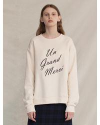 among A Merci Sweatshirt - Brown