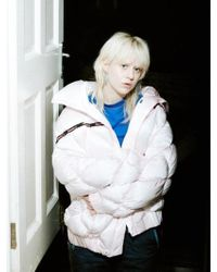 KIMMY J Puppy Pocket Down Jacket Baby Pink