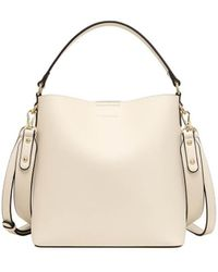 Lapalette Essential Sm Bucket Bag - White