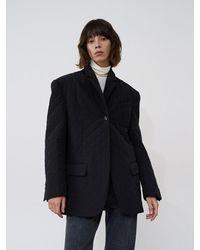 AEER Single Padded Jacket - Black