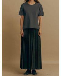 Mosca_ - Long Pleats Skirt - Lyst