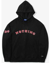 W Concept - Do Nothing Hoodie Black - Lyst