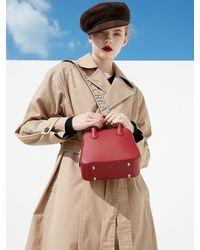 DEMERIEL City Bag Red Mini