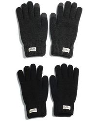 W Concept - Touch Gloves Wh Label - Lyst