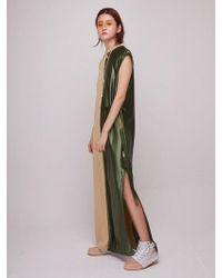 Baby Centaur - Baby Metallic Long Dress Beige - Lyst