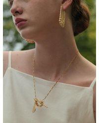 1064STUDIO - Golden Circle Necklace - Lyst