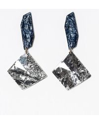 Blank - Crystal Drop Earring - Lyst