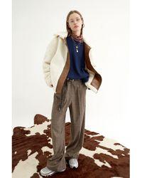 OUI MAIS NON Lemaire Wool Slacks - Natural