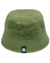XTONZ Oxford Short Bucket Hat Olive - Green