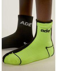 ADER error Ade Sewing Socks Noir - Black