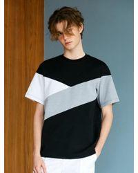 BONNIE&BLANCHE - Underwater Over Fit T-shirt Black - Lyst