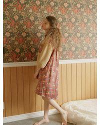 ULLALA PAJAMAS Hug Bear Dress - Natural