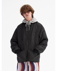 WKNDRS Quilted Jacket Black
