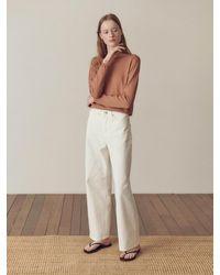 HIDDEN FOREST MARKET Bianca Trousers - White
