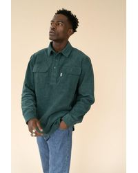 we are bound Bottle Cord Heavy Overshirt - Multicolour