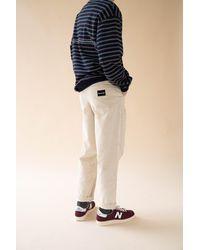 we are bound Barley Cream Cord Trousers - Multicolour