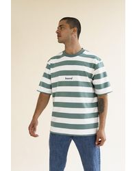 we are bound Menthe Stripe Tee - Blue
