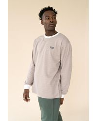 we are bound Desert Dogtooth Ls Tee - Natural