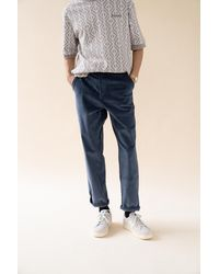 we are bound Dallas Blue Cord Pants