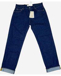 Golden Goose Deluxe Brand Pant Boyfriend Blue Denim Jeans