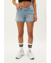 Weekday Frida Denim Shorts - Blue