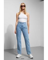 Weekday - Row Sky Blue Jeans - Lyst