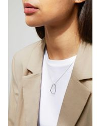 Weekday - Horizon Necklace - Lyst
