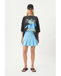 Weekday Paris Short Skirt - Blue