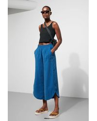Weekday Springer Wide Trousers - Blue