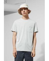 Weekday Anton Washed T-shirt - Brown