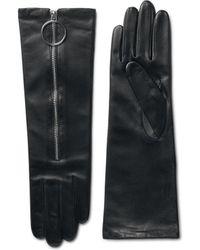 Weekday - Cordelia Leather Gloves - Lyst