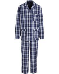 C&A Canda Geruite Pyjama Blauw