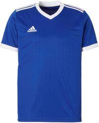 adidas Performance Senior Sport T-shirt Tabela Blauw/wit