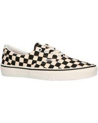 Vans Era Checkerboard Sneakers Zwart/wit