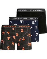 Jack & Jones Boxershort (set Van 3) - Zwart