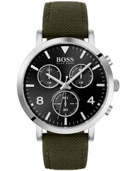 BOSS Spirit Chronograaf Horloge Hb1513692 - Groen