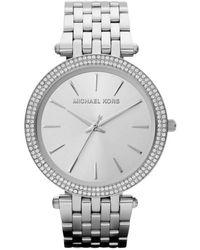 Michael Kors Stainless Horloge Mk3190 - Metallic