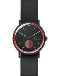 Skagen Signatur Heren Horloge Skw6540 - Zwart