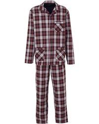 C&A Canda Geruite Pyjama Rood