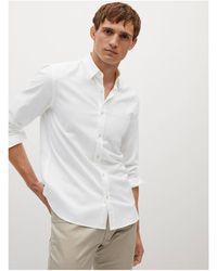 Mango - Slim Fit Overhemd - Lyst