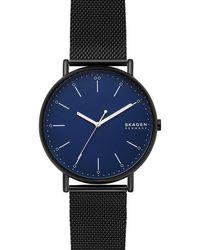 Skagen Signatur Heren Horloge Skw6529 - Zwart