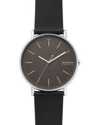 Skagen Signatur Heren Horloge Skw6528 - Metallic